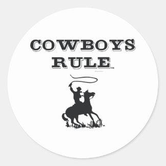 TEE Cowboys Rule Stickers