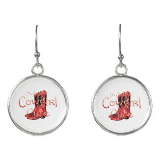 TEE Cowgirl Cute Earrings