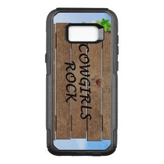 TEE Cowgirls Rock OtterBox Commuter Samsung Galaxy S8+ Case