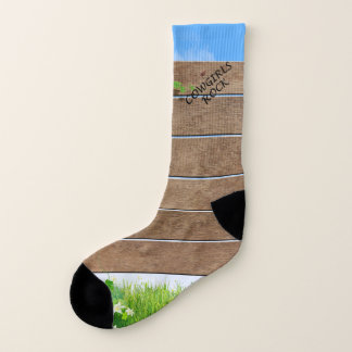 TEE Cowgirls Rock Socks