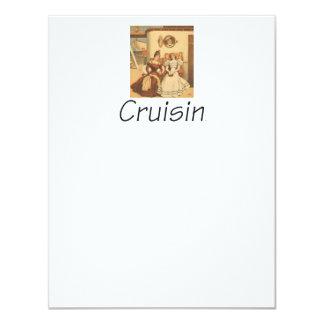 TEE Cruising 11 Cm X 14 Cm Invitation Card