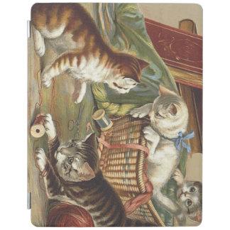 TEE Curious Cat iPad Cover