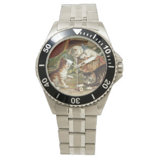 TEE Curious Cat Wrist Watch