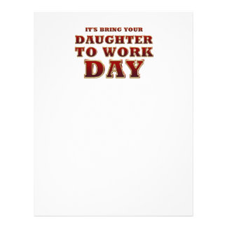 TEE Daughter to Work Day Flyer