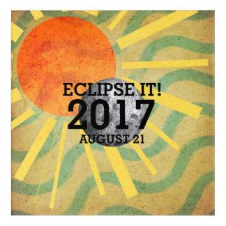 TEE Eclipse It 2017 Acrylic Wall Art