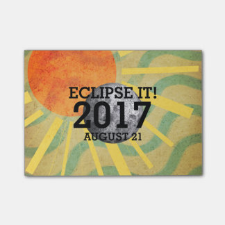 TEE Eclipse It Post-it Notes