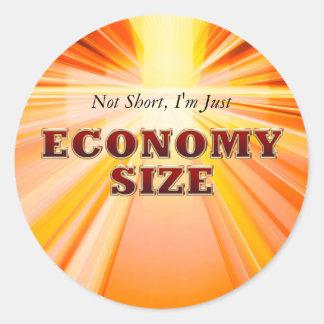 TEE Economy Size Classic Round Sticker