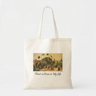 TEE Elephant Acrobats Tote Bag