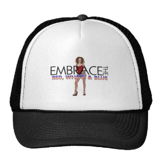 TEE Embrace the Red, White, and Blue Mesh Hat