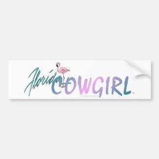 TEE Florida Cowgirl Bumper Sticker