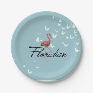 TEE Floridian Paper Plate