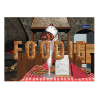 TEE Foodie Pack Of Chubby Business Cards
