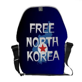 TEE Free North Korea Courier Bag
