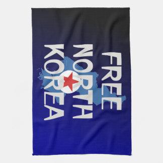 TEE Free North Korea Tea Towel