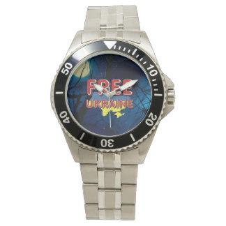 TEE Free Ukraine Wrist Watches
