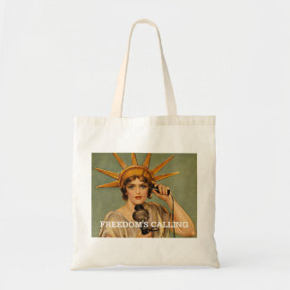 TEE Freedom Calling Tote Bag