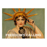 TEE Freedom's Calling Business Card