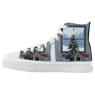 TEE Gift Tree Printed Shoes