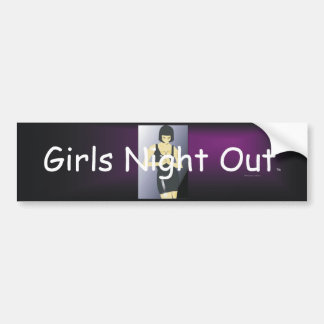TEE Girls Night Out Bumper Stickers