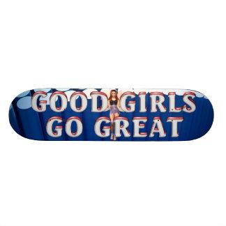 TEE Good Girls Custom Skate Board