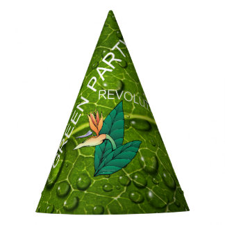 TEE Green Party Party Hat