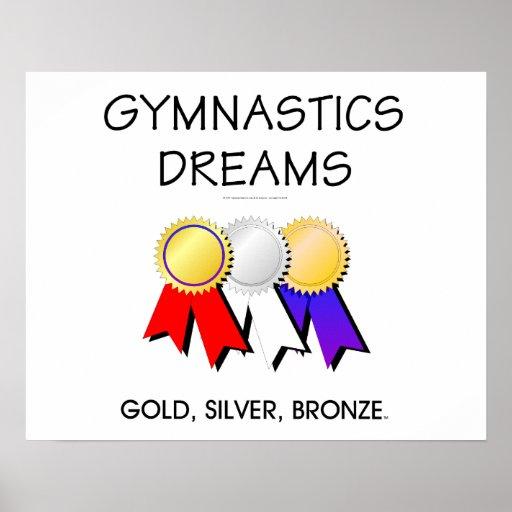 TEE Gymnastics Dreams Poster