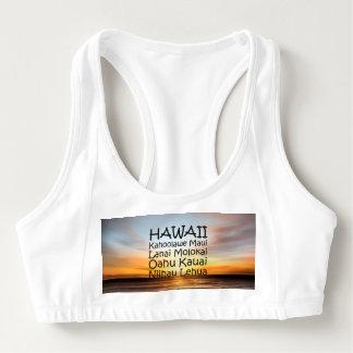 TEE Hawaii Sports Bra