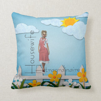 TEE Housewife Extraordinaire Cushion