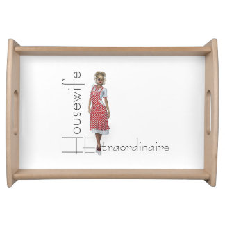TEE Housewife Extraordinaire Serving Tray