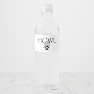 TEE Howl Water Bottle Label