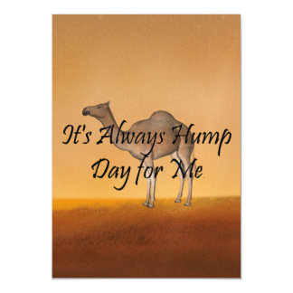 TEE Hump Day Magnetic Invitations