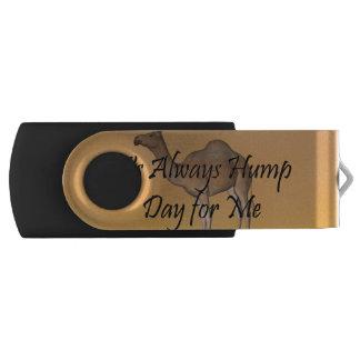 TEE Hump Day Swivel USB 2.0 Flash Drive