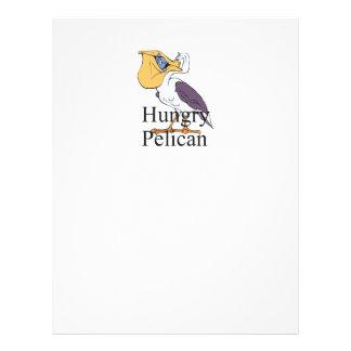 TEE Hungry Pelican 21.5 Cm X 28 Cm Flyer