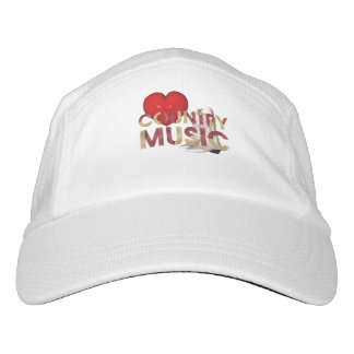 TEE I Love Country Music Hat