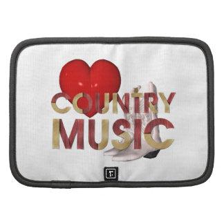 TEE I Love Country Music Folio Planner