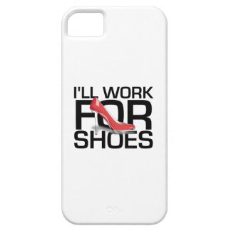 TEE I Work for Shoes Barely There iPhone 5 Case