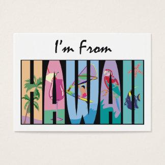 TEE I'm From Hawaii Business Card