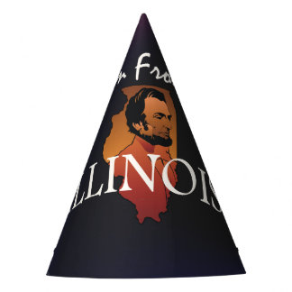 TEE I'm from Illinois Party Hat