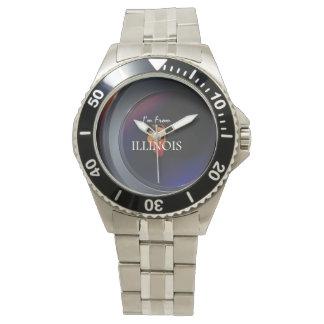 TEE I'm from Illinois Wristwatch
