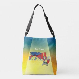 TEE I'm from Maryland Crossbody Bag