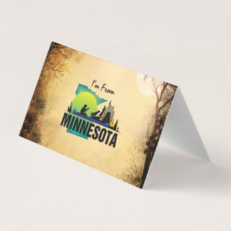 TEE I'm from Minnesota Business Card