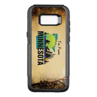 TEE I'm from Minnesota OtterBox Commuter Samsung Galaxy S8+ Case