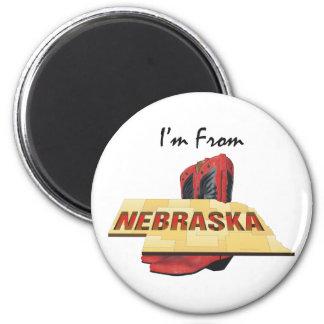 TEE I'm From Nebraska Magnet