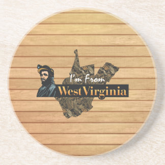 TEE I'm from West Virginia Coaster