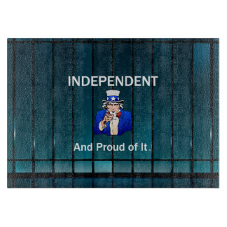TEE Independent and Proud of It Cutting Board