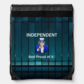 TEE Independent and Proud of It Drawstring Bag