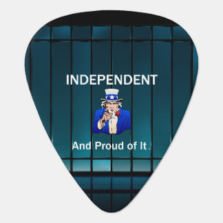 TEE Independent and Proud of It Guitar Pick