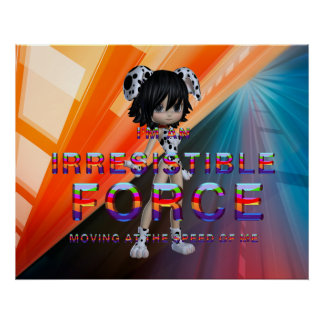 TEE Irresistible Force Poster