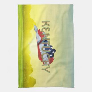 TEE Kentucky Patriot Tea Towel