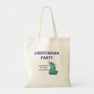 TEE Libertarian Party Tote Bag